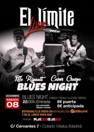 CARTEL LIMITE BLUES NIGHT